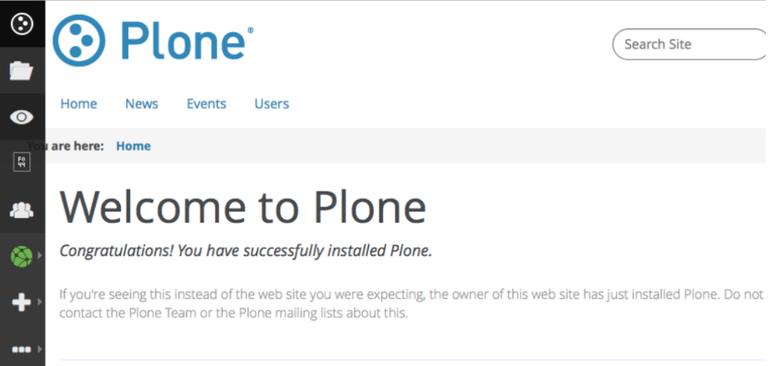 plone 5 unthemed